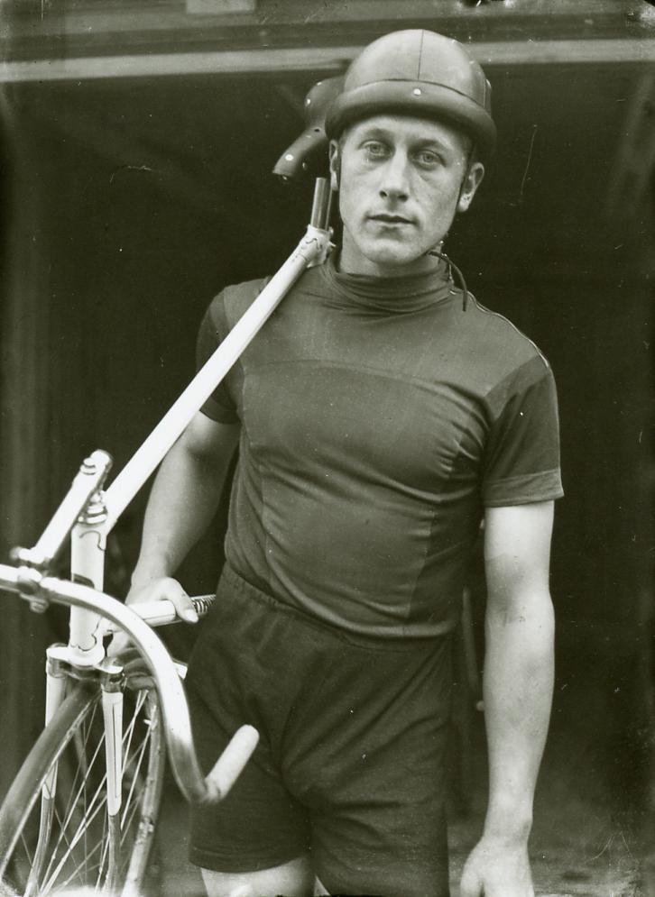 Heron Mariager Grand Prix vinder i Aarhus 1942 og 1943 og København 1941. Foto: Aage Fredslund Andersen.