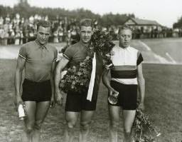 Grand Prix 1936: 1. Dissing Rasmussen 2. Bjørn Stieler 3. Gunnar Liepke
