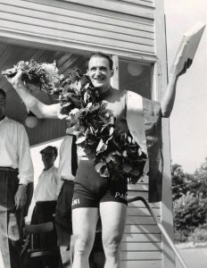 Valentino Gasparella Italien, Grand Prix vinder 1958.