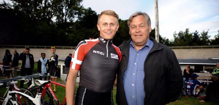 Gert Frank med søn Martin Frank
