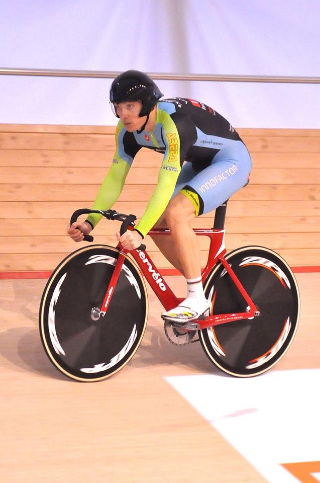 Henrik Scharling satte hurtigste tid i kvalifikationen, foto: Tommy Kjærluff Eriksen