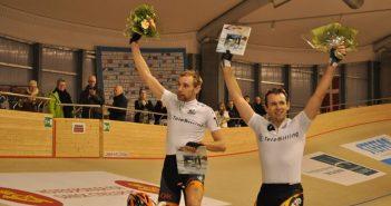 Jesper Mørkøv og Alex Rasmussen suveræne sejrsherrer i parløbet. foto: CyclingLive