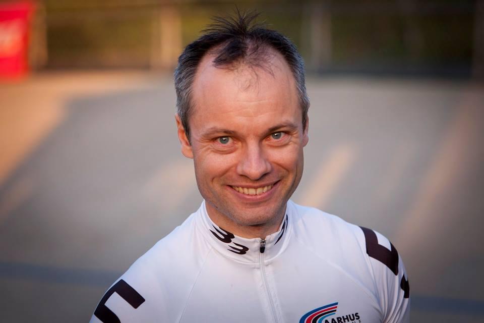 "Florian ""Der Kaizer"" Schneider, sidste løb på Aarhus Cyklebane. Foto: Toke Hage."