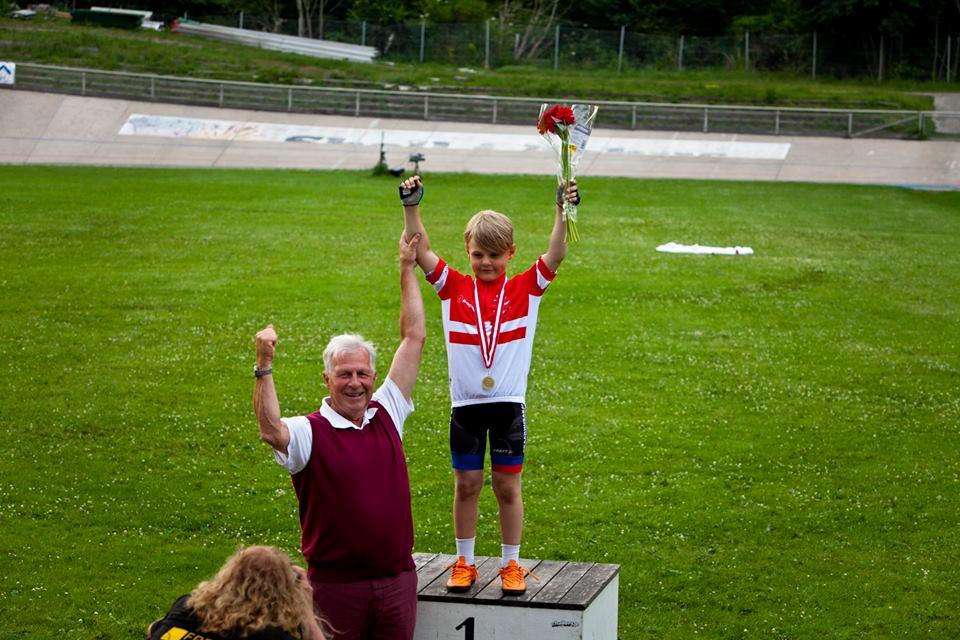 Malthe Obitsø Forsberg vinder af U11 drenge, foto: Toke Hage.